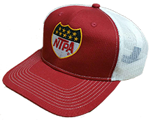 NTPA Red/White Mesh Hat