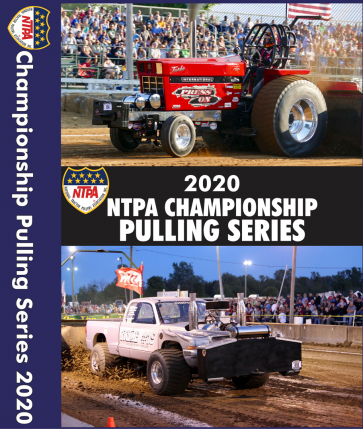 2020 NTPA Championship Pulling Series DVDs