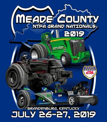 2019 Meade County NTPA Grand Nationals T-shirt
