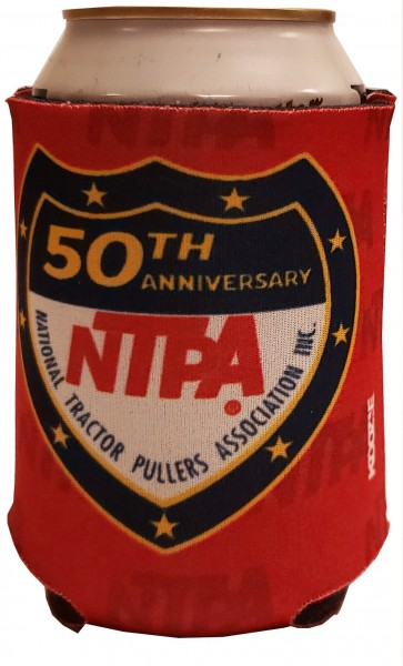50th Anniversary Koozie - Red
