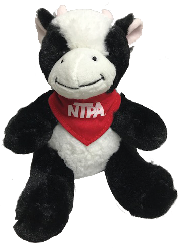NTPA Plush Cow with Scarf