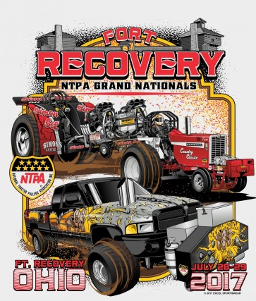 2017 Fort Recovery Event T-shirt