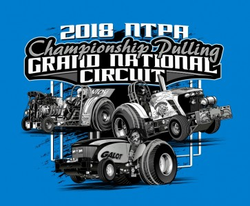 2018 GN Circuit T-shirt - Heather Blue