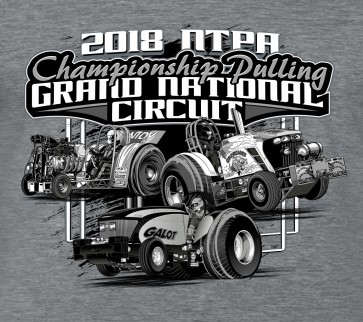 2018 GN Circuit Hoodie - Heather Grey