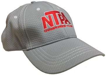 NTPA Championship Pulling Grey Breathable Hat