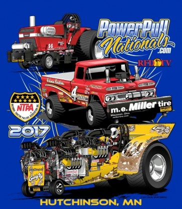 2017 Power Pull Nationals T-shirt