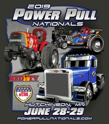 2019 Power Pull Nationals Event Shirt