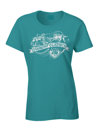 Ladies Country Classics Shirt -Teal