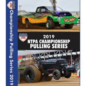 2019 NTPA Championship Pulling Series DVDs