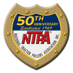 NTPA 50th Anniversary Shield Sticker