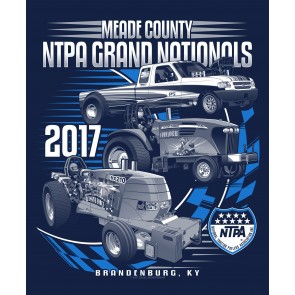 2017 Meade County NTPA Grand Nationals T-shirt