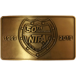 50th Anniversary Belt Buckle
