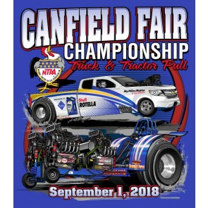 2018 Canfield Fair Pull T-shirt