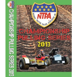 2013 NTPA Championship Pulling Series DVDs