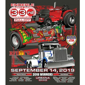 2019 Enderle Pull-Off Event T-shirt