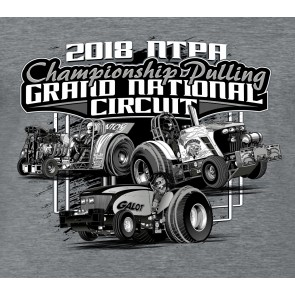 2018 GN Circuit T-shirt - Heather Grey