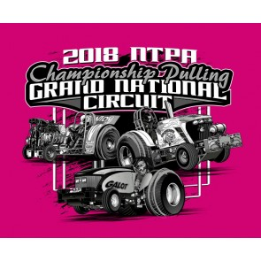2018 GN Circuit T-shirt - Heather Pink