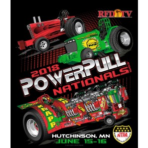 fd878a533d0482 2018 Power Pull Nationals Event Shirt
