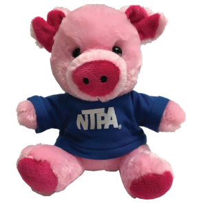 NTPA Plush Pig with Shirt