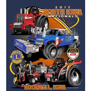 2017 North Iowa Nationals Event Shirt